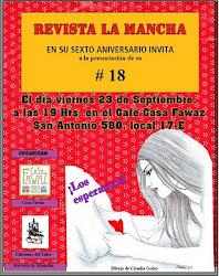 Afiche promocional Mancha # 18 - 2011