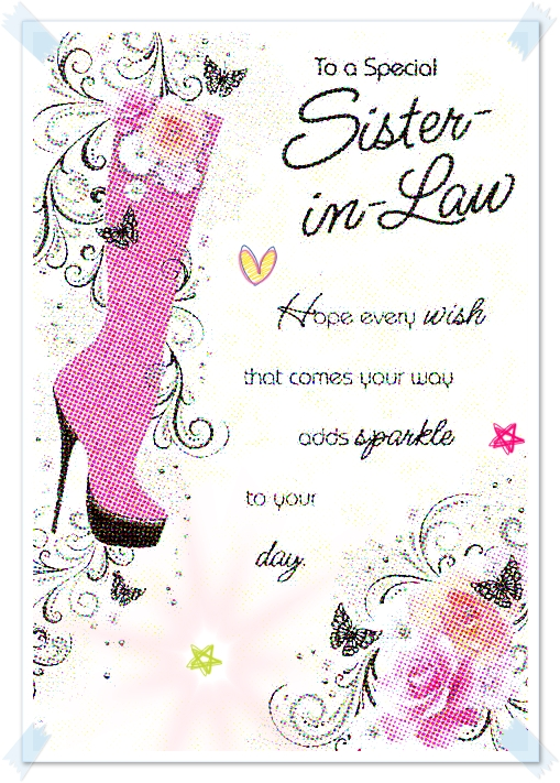 Happy Birthday Sister In Law Funny – Happy Birthday Card to My Sister