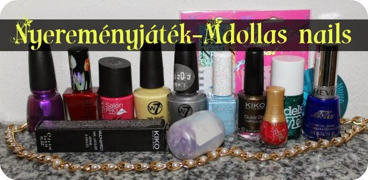 Játék az Mdollas nails blogon!