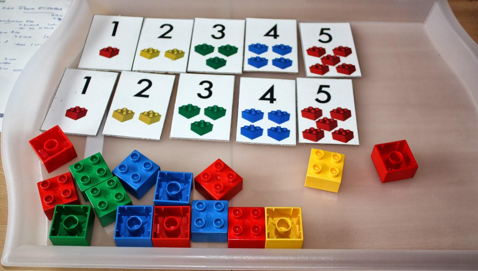 Gut bekannt Merci qui ? MERCI MONTESSORI !: Une tour de Legos pour s'entraîner  SR33