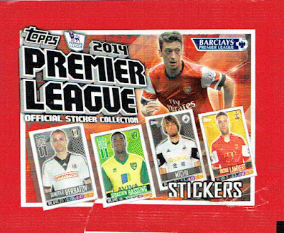 Topps 2014 Premier League Official Sticker Collection 4