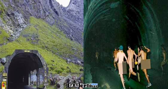 The Great Annual Nude Tunnel Run Kejuaraan Balap Lari Telanjang (New Zealand)