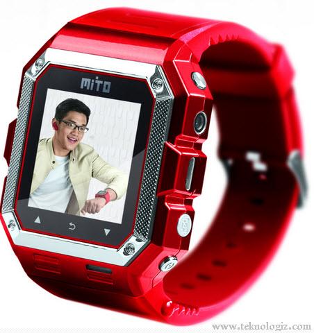 Harga dan spesifikasi Mito S500 jam tangan ponsel murah yang trendi - www.teknologiz.com