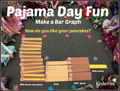 Pajama Day Fun- Pancake Graph