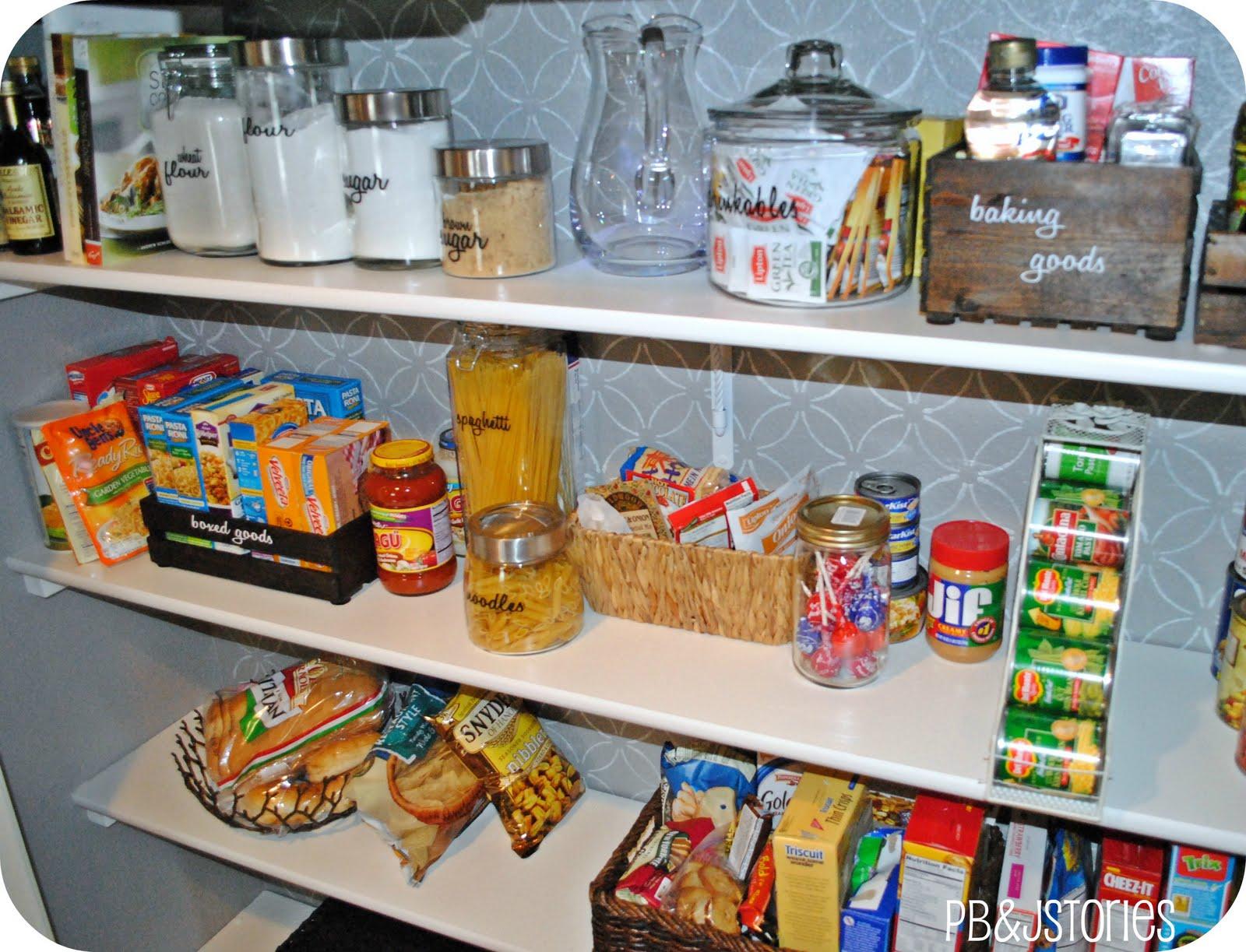 PBJstories Kitchen Pantry Reveal