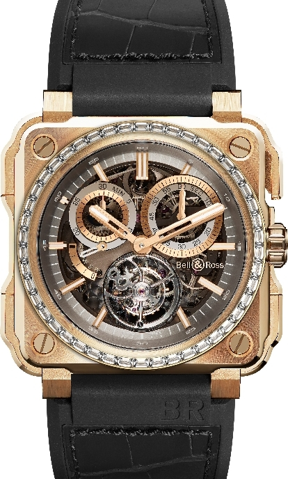 neue uhr bell ross br x1 chronograph tourbillon uhrforum. Black Bedroom Furniture Sets. Home Design Ideas