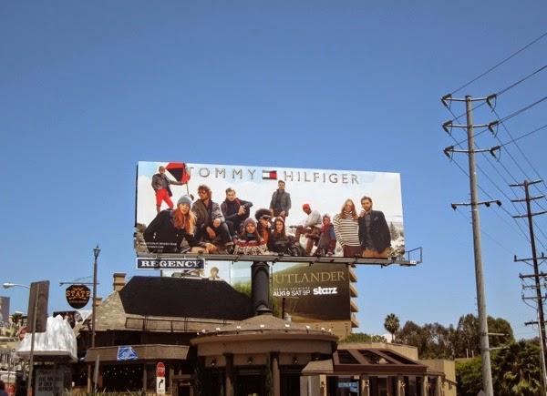 Tommy Hilfiger FW 2014 billboard