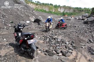 Testdrive Yamaha X-Ride Di Lereng Merapi
