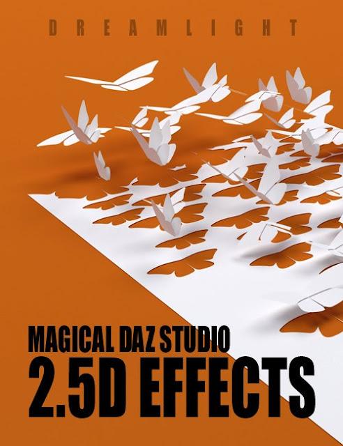 Magical Daz Studio 2.5D Effects
