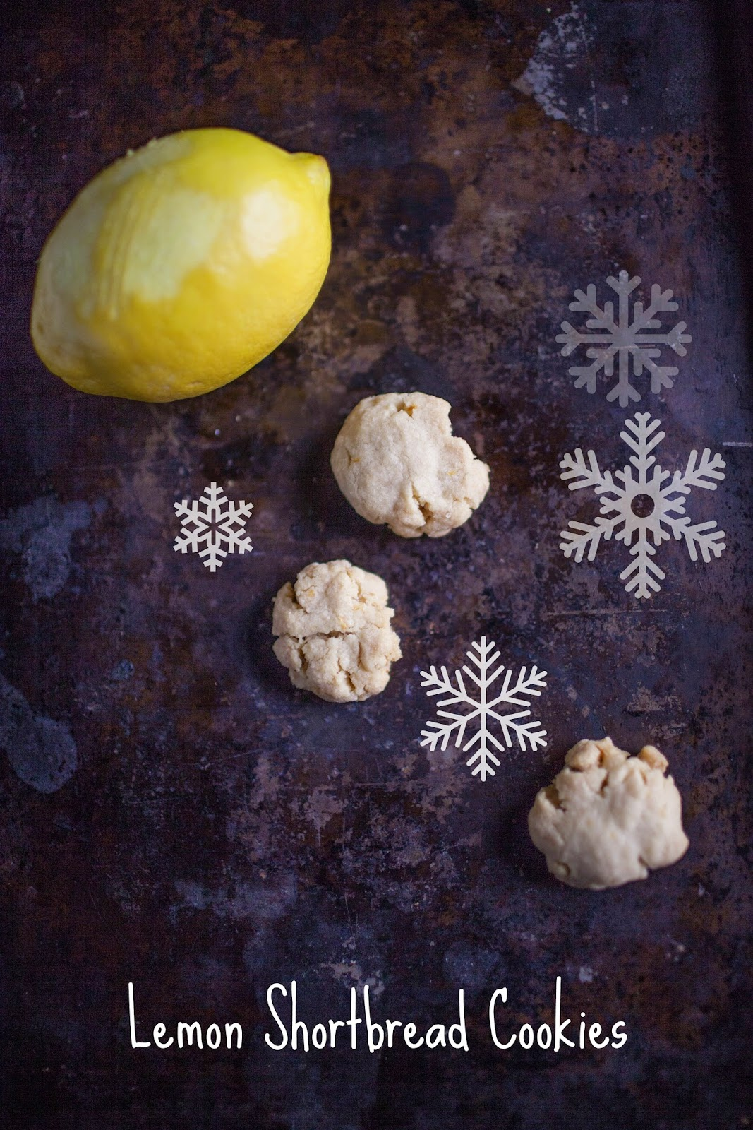 One cookie recipe 12 ways: lemon shortbread cookies