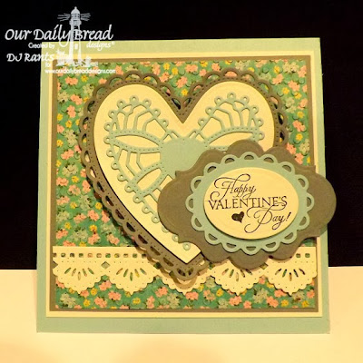 Our Daily Bread Designs, Bless your heart, ornate hearts, beautiful borders