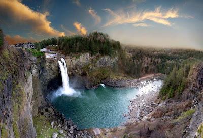 Cachoeira Snoqualmie – Washington