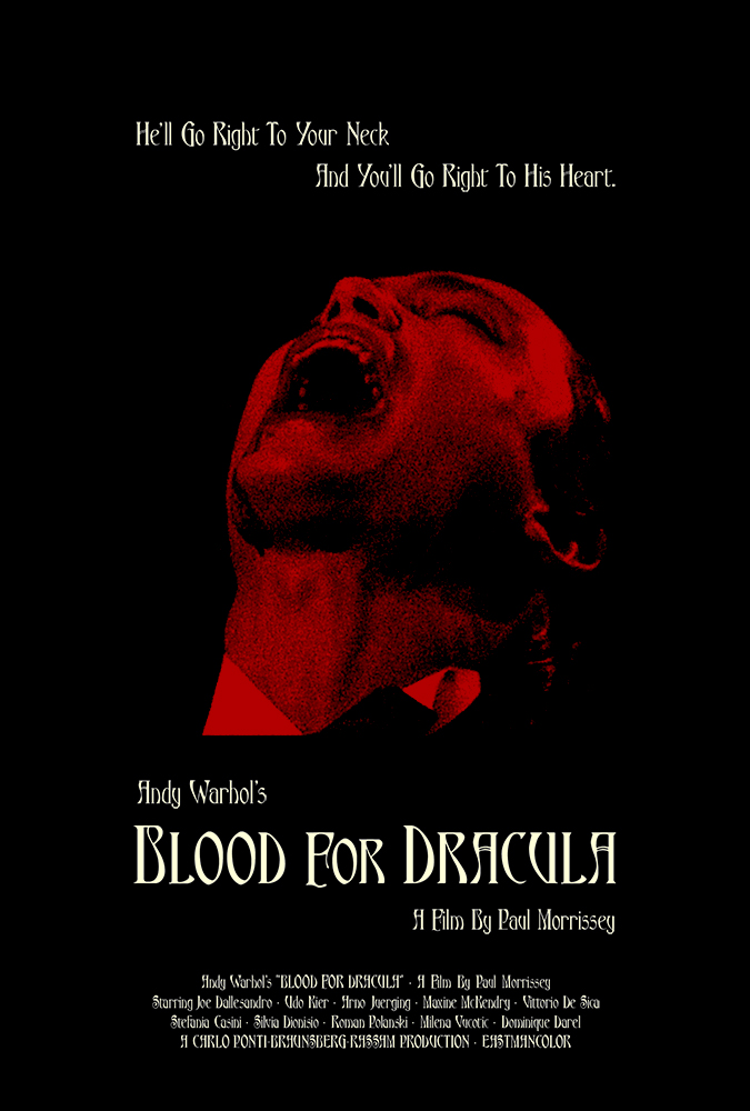 silver ferox design blood for dracula paul morrissey 1974