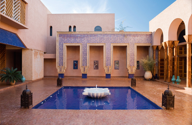 Loveisspeed villa in marrakech architect jean francois onlookers at home jean for Construction villa casablanca