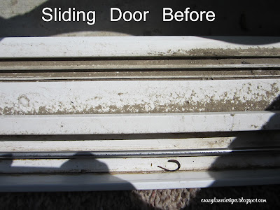 How to clean sliding door track, How to clean window track