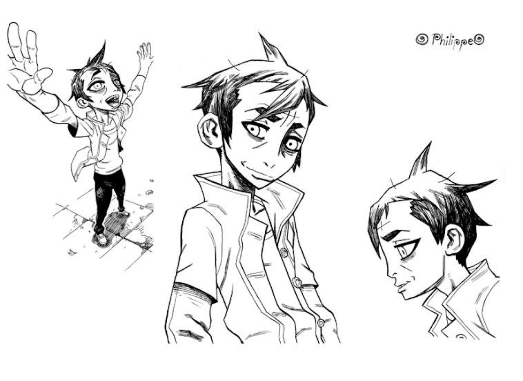 character design pour mon futur manga