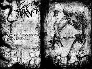 Life Ends With A Dream Dark Gothic Wallpaper