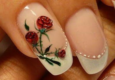 Flower Designs Nail Art Your Getaway To Beautiful Nails Corner