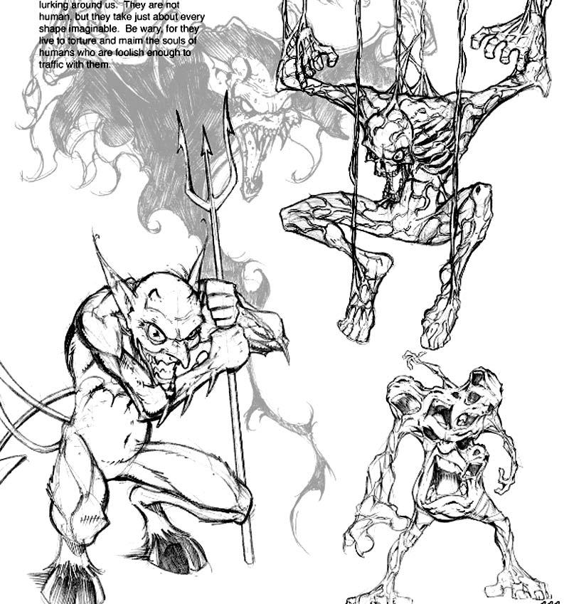 Monstruos demonios