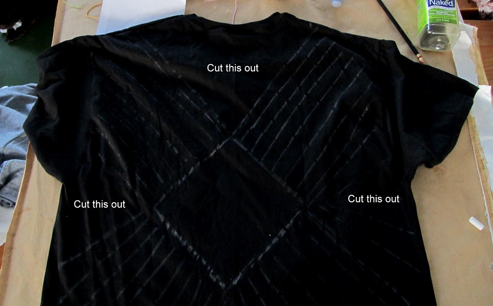 Wobisobi no sew tee shirt beach cover up diy for Beach shirt cover up