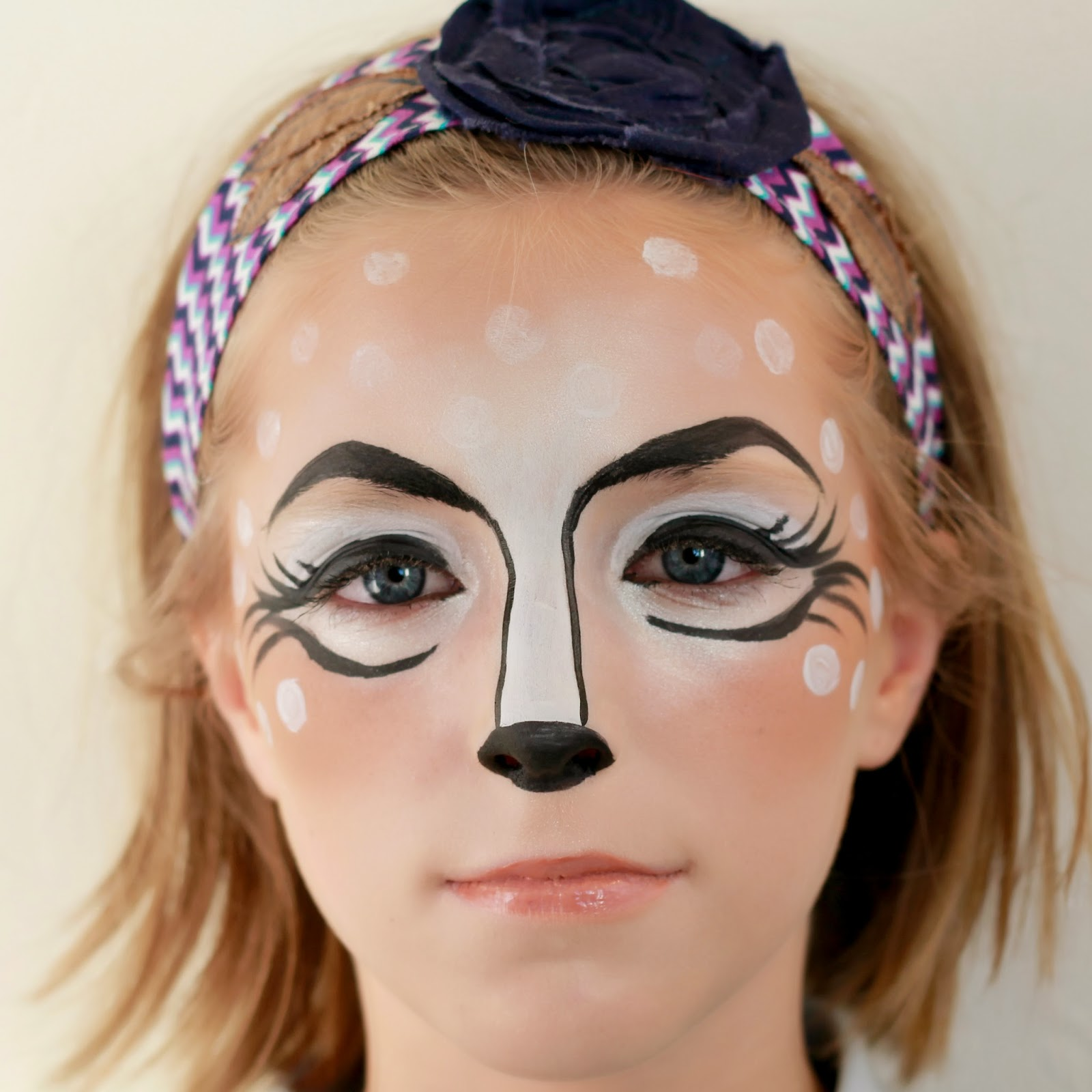 the Crafty Woman: How to Paint a Face: Deer