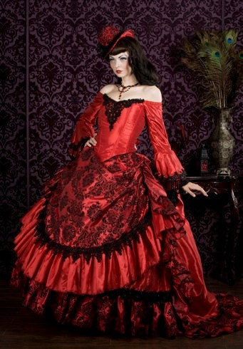 devilinspired victorian clothing costume inspiration from