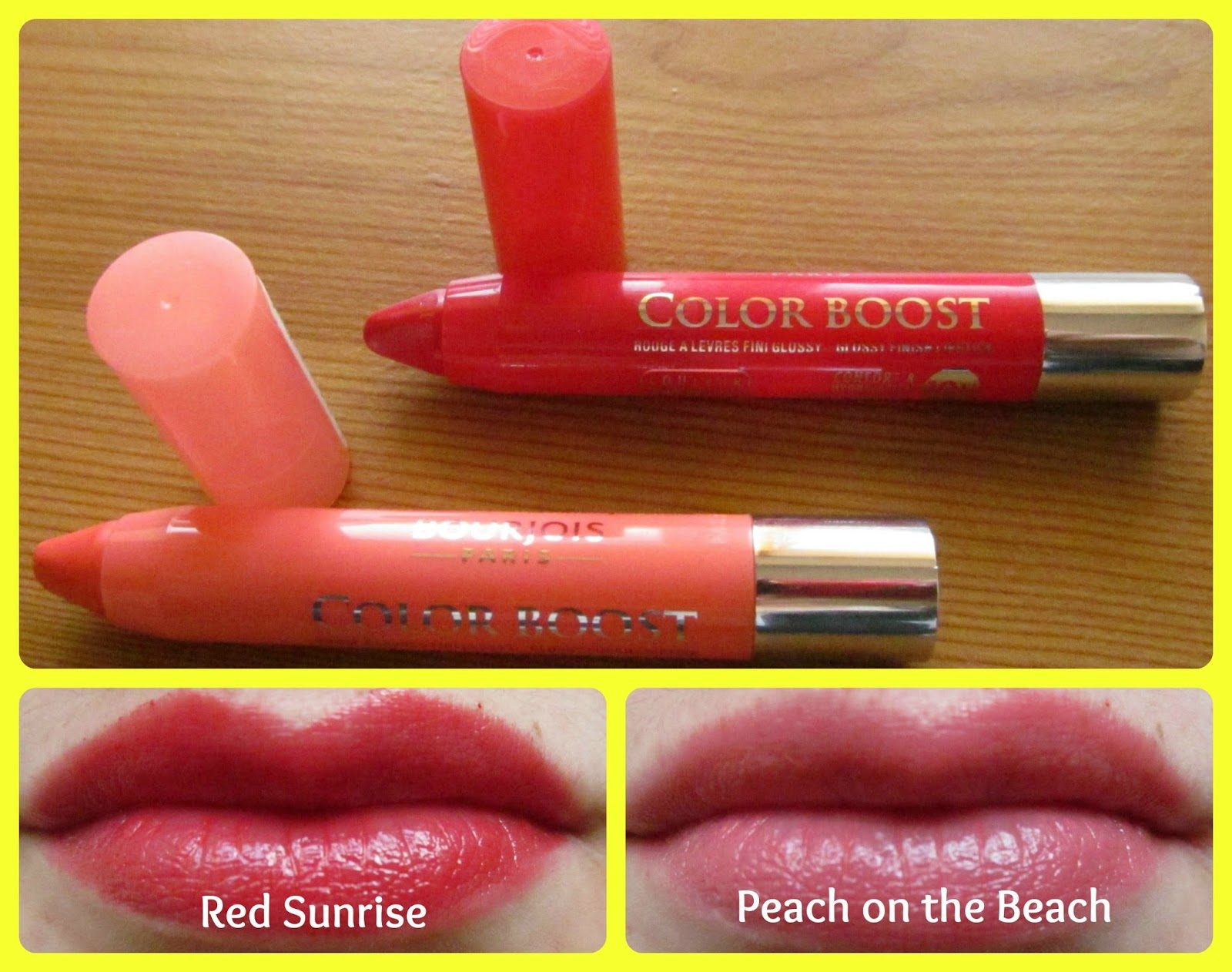 friday 16 august 2013 - Color Boost Bourjois
