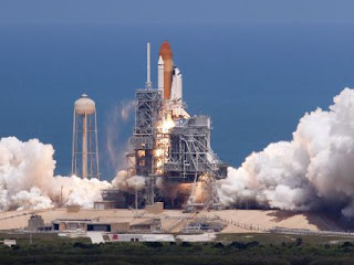 Space Shuttle launch and landing