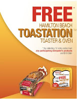 free Dempster's toaster oven Canada
