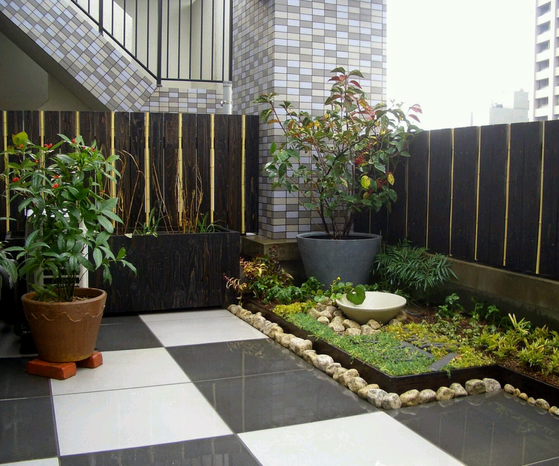 Taman rumah minimalis modern 2015