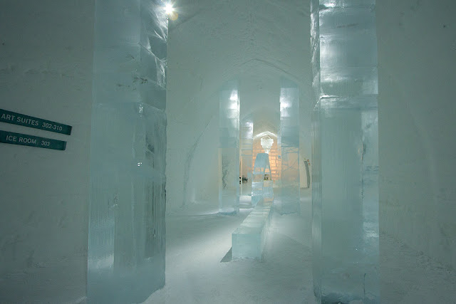 icehotel inkomhal