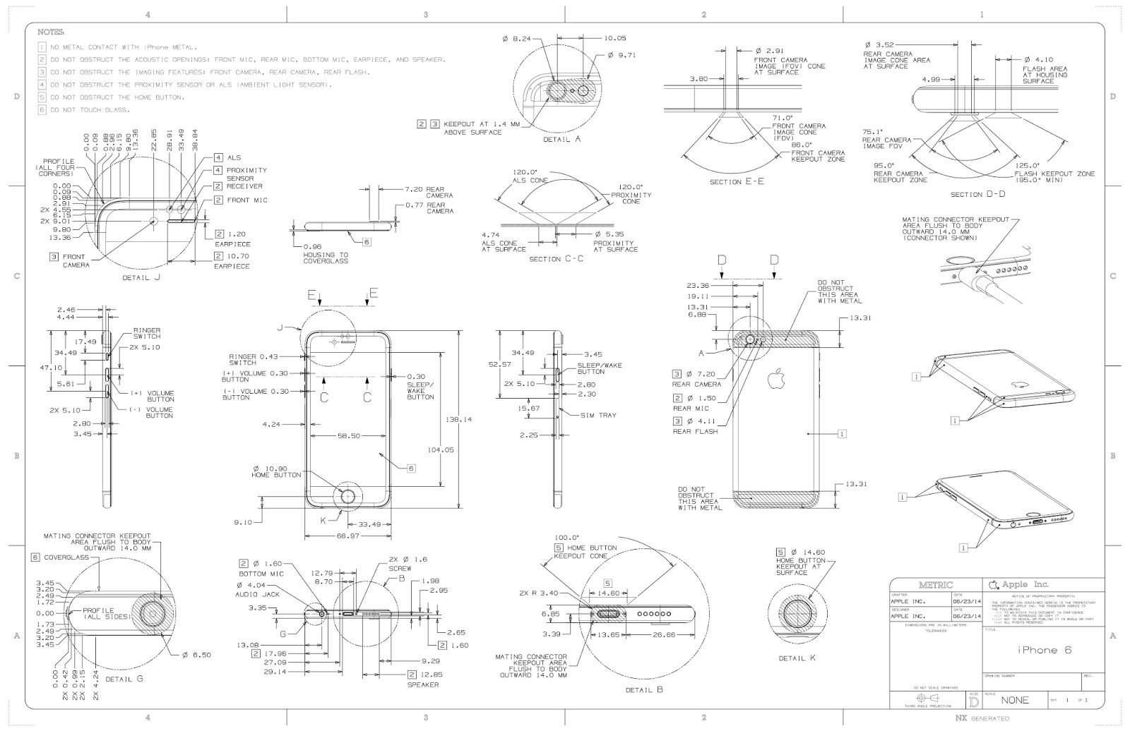 iPhone 6 Design Dimensions Schematics bullettrain bulletblog by jakee apple iphone 6 & iphone 6 plus iPhone 6s Layout at creativeand.co