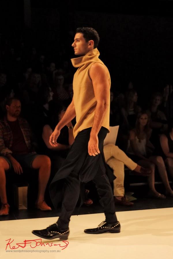David Zheng; menswear -  New Byzantium : Raffles Graduate Fashion Parade 2013 - Photography by Kent Johnson.