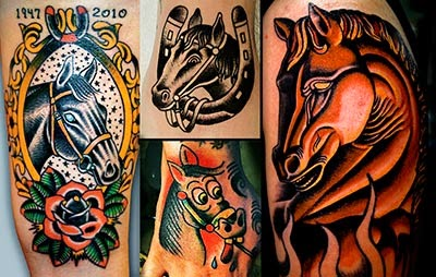 Fotos de tatuagens de cavalos
