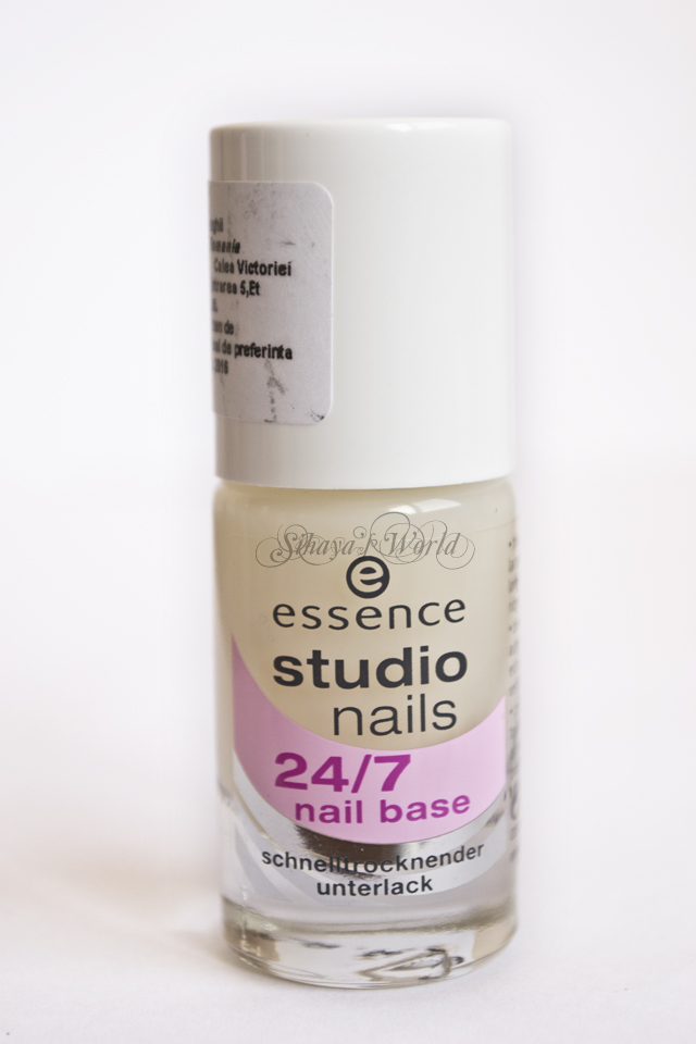 essence studio nails 24/7 nail base