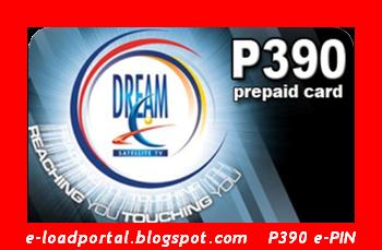 E-Load Portal: Dream Satellite TV Prepaid P390 e-Pin