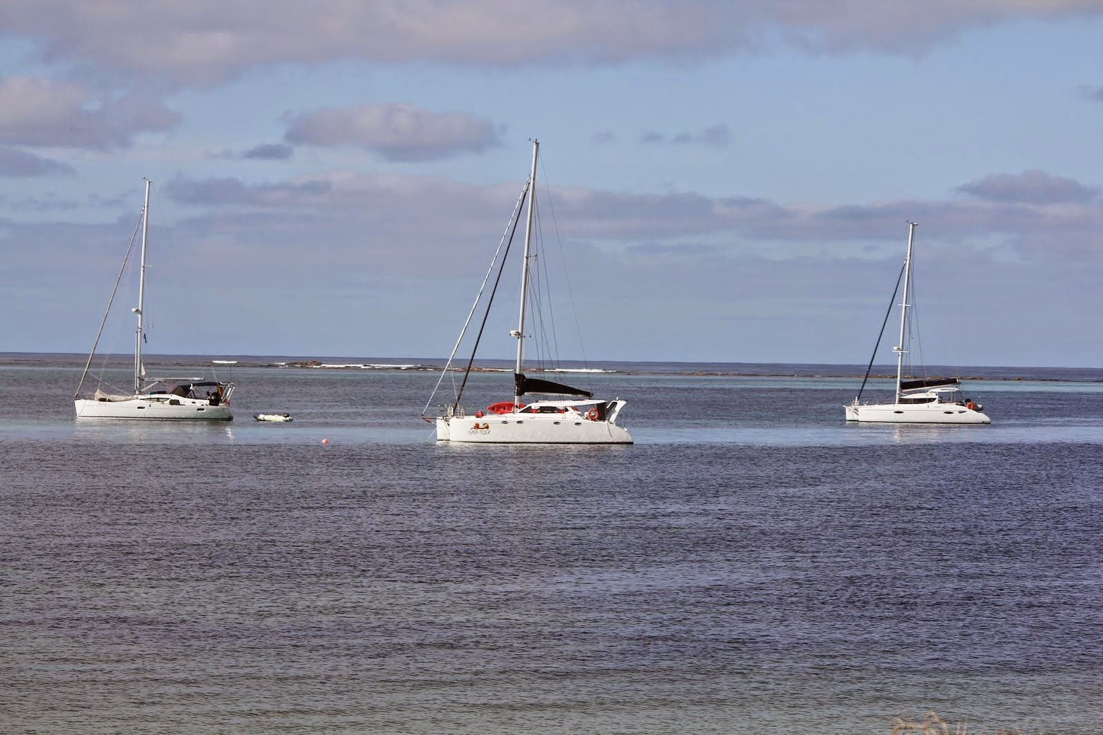 Our Sailing trio in Hopetoun WA