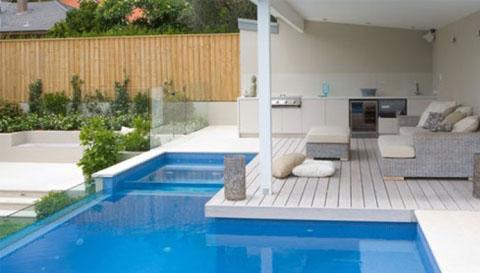 Rumah+Minimalis+Dengan+Kolam+Renang+9 Rumah Minimalis Dengan Kolam Renang Mungil, Kenapa Tidak?