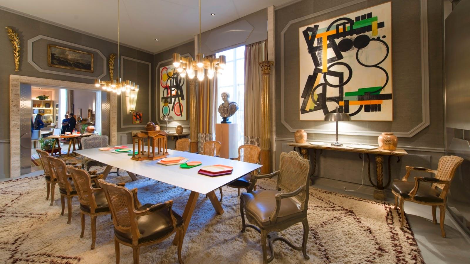 Dourado é tendência na decoração de interiores – saiba como usar  #9D662E 1600x900 Banheiro Antigo Azul