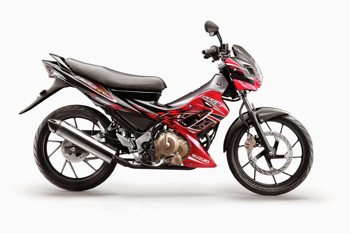 Suzuki Satria FU 150 VS  Kawasaki Athlete