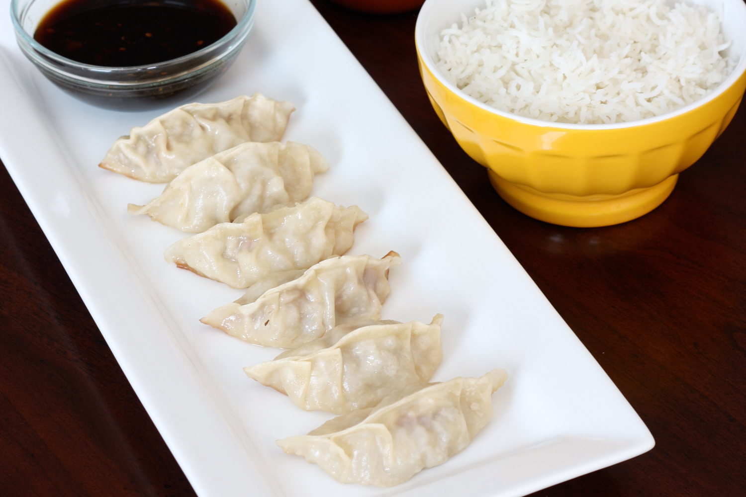 That Winsome Girl: Gyoza (Japanese Potstickers)