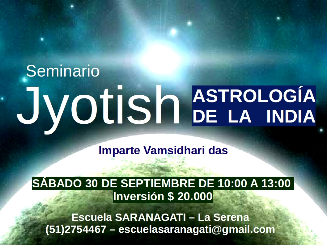Seminario ASTROLOGÍA DE INDIA - JYOTISH