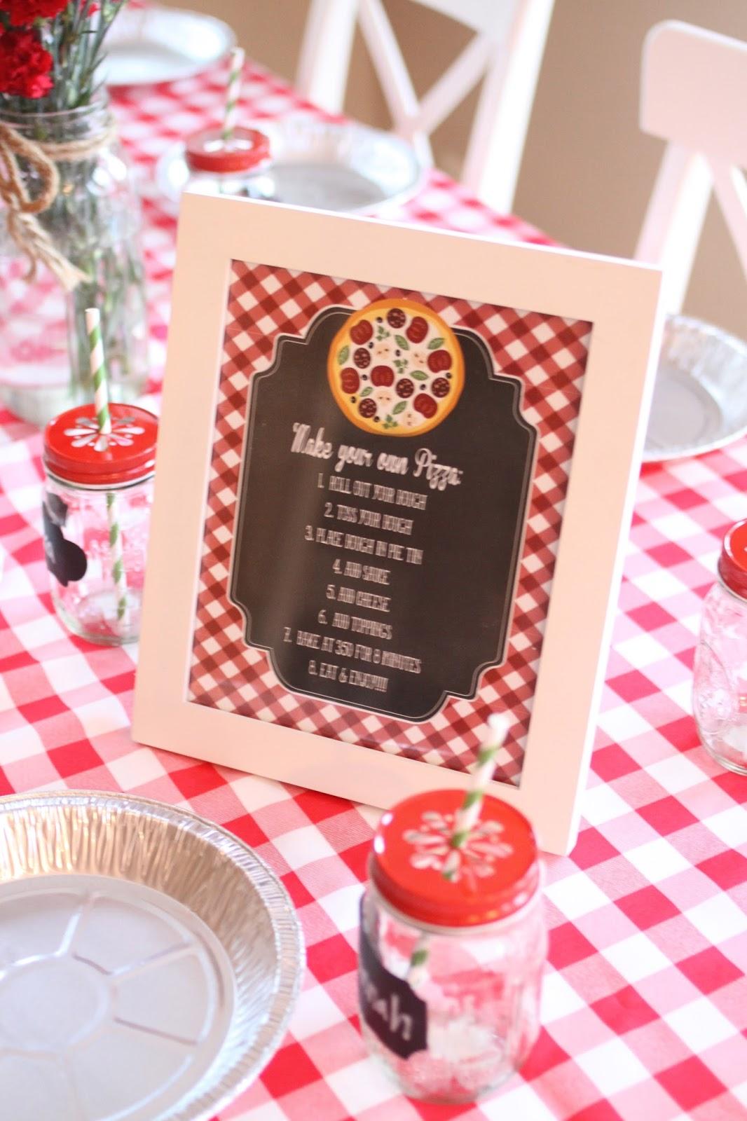 Kate\'s Pizzeria Party! | The Larson Lingo | Bloglovin\'
