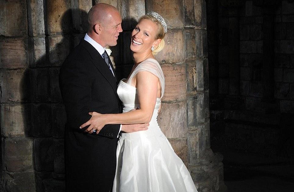 Matrimonio Zara Phillips : Oggi sposi matrimonio zara phillips e mike tindall