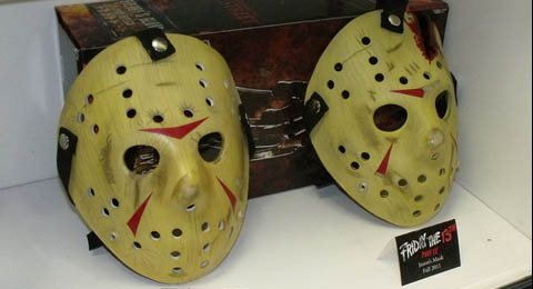 The friday the 13th hockey mask faq friday the 13th the franchise there are huge number of great artists that can assist fans in painting their blank masks once they purchase them it is said the paint and weathering maxwellsz