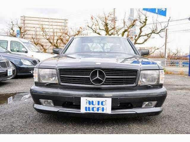 mercedes 560 sec japan