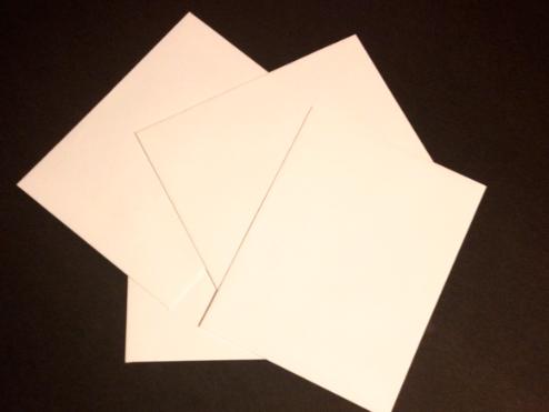 Vintage Stamp Wedding Escort Card Envelopes