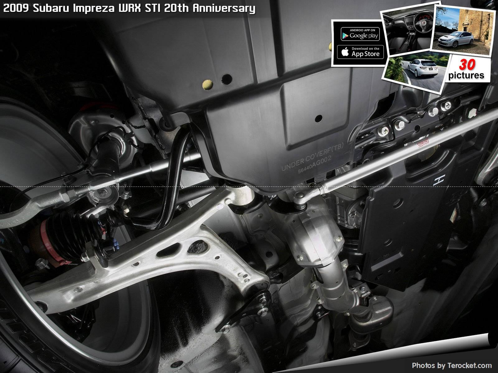 Hình ảnh xe ô tô Subaru Impreza WRX STI 20th Anniversary 2009 & nội ngoại thất