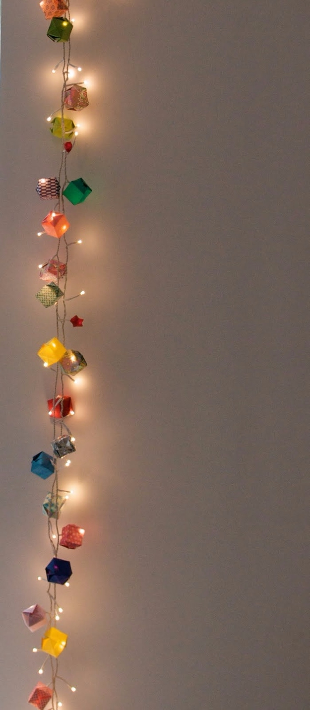 Awesome diy string light ideas do it yourself ideas and for Home decor ideas string lights