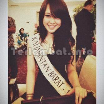 Vania Larissa Miss Kalimantan Barat 2012